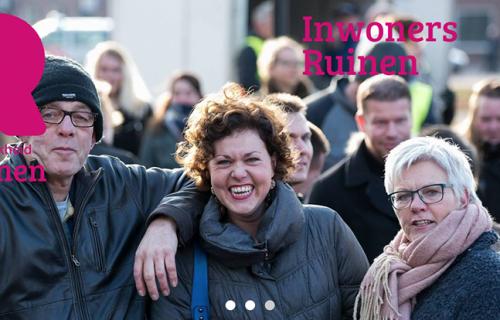 Screenshot van de het inwonersportaal van Ruinen.nl