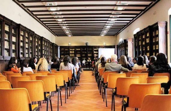 Foto van een congres